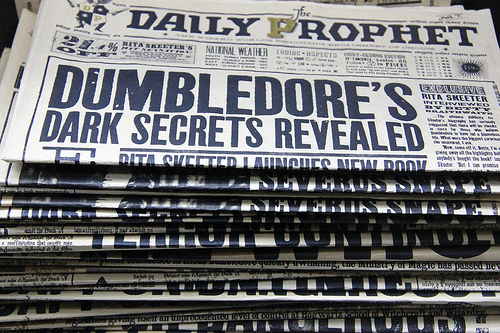 Dumbledore's Dark Secrets....or Google's?