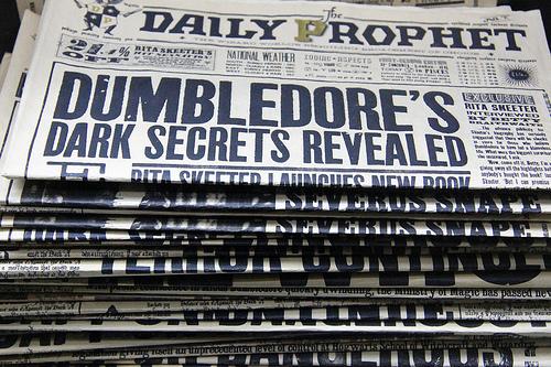 Dumbledore's Dark Secrets....or Google's?