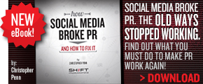 Download our new eBook, How Social Media Broke PR
