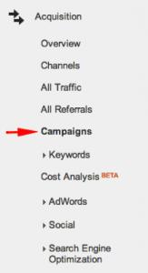 Acquisitions -> Campaigns