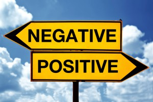 Negative to Positive