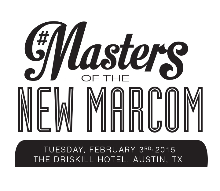 Attend The New Masters of MarCom