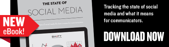 Download our new eBook, The State of Social Media