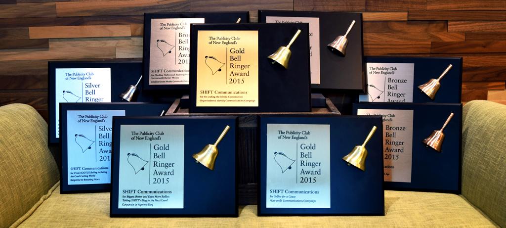 Gold Bell Ringer Award