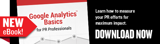 Download our new eBook, Google Analytics Basics