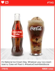 Coca-Cola Tumblr