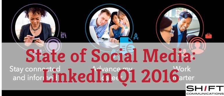 State of Social LinkedIn Q1 2016