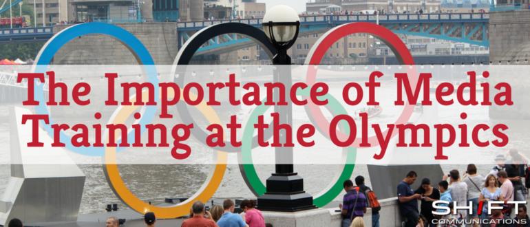 Olympic media training