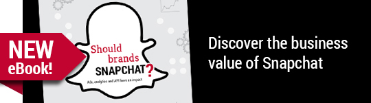 Download our new eBook, Should Brands Snapchat?