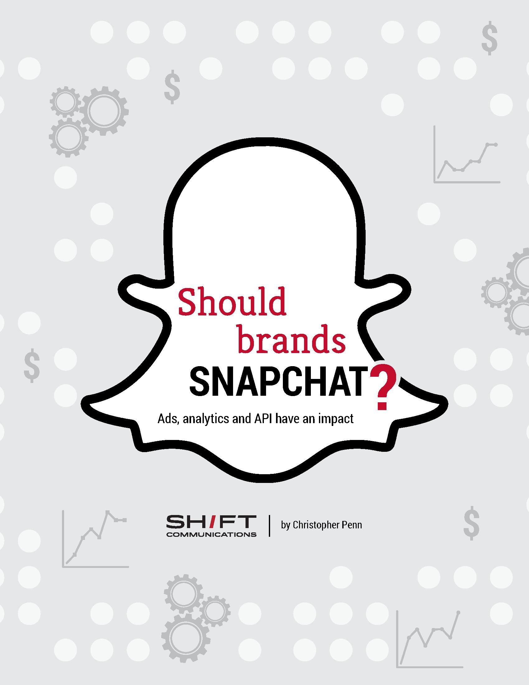 Should brands snapchat?