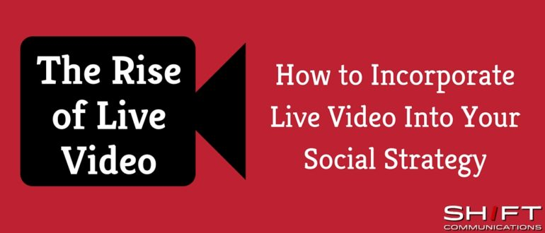 Are you using live video?