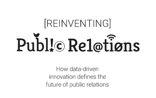 Reinventing PR eBook