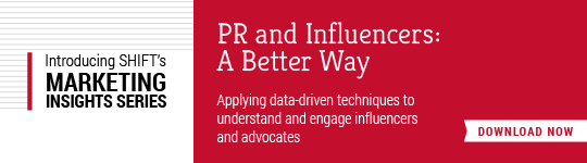 Download our new whitepaper, PR and Influencers: A Better Way