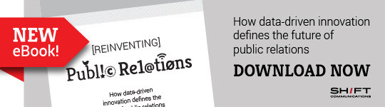 Download our new eBook, Reinventing Public Relations