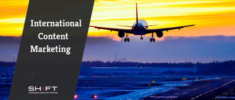 international content marketing