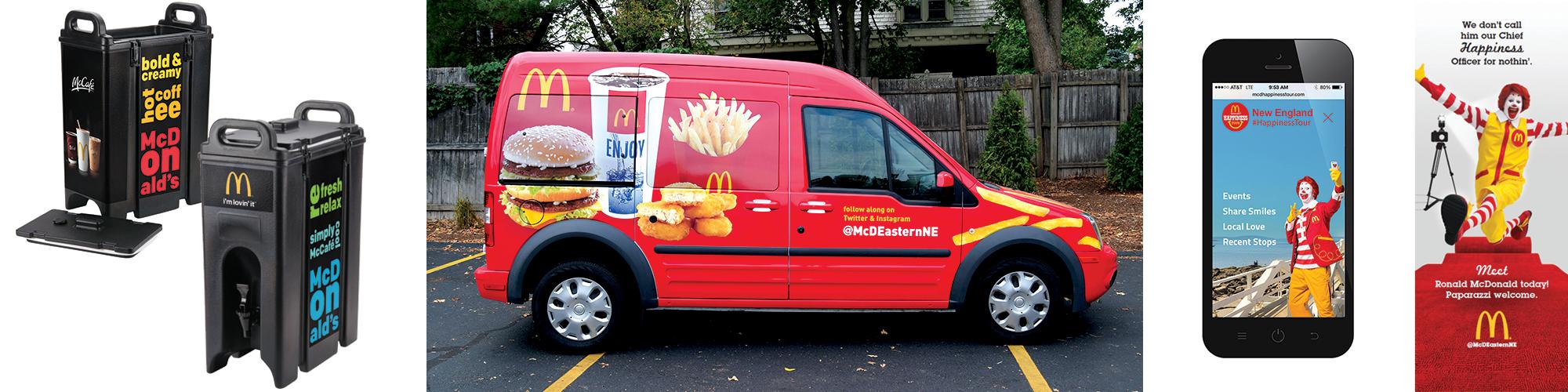 Creative Services McDonalds