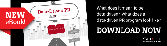 Download our new eBook, Data-Driven PR