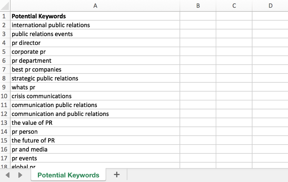 Loan Amortization Formula >> Prevent Keyword Cannibalization in Your Content Marketing Strategy with this Excel Tool - SHIFT ...
