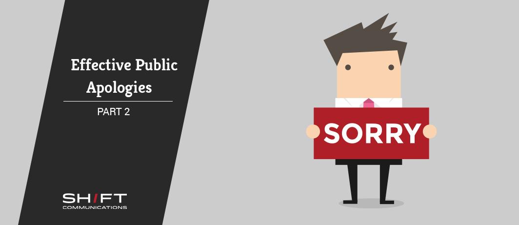 public apologies
