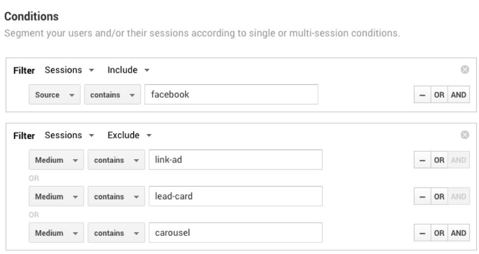 social media analytics Google Analytics