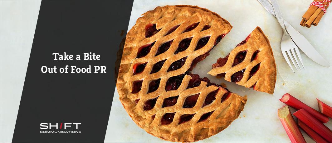 Take a Bite out of Food PR