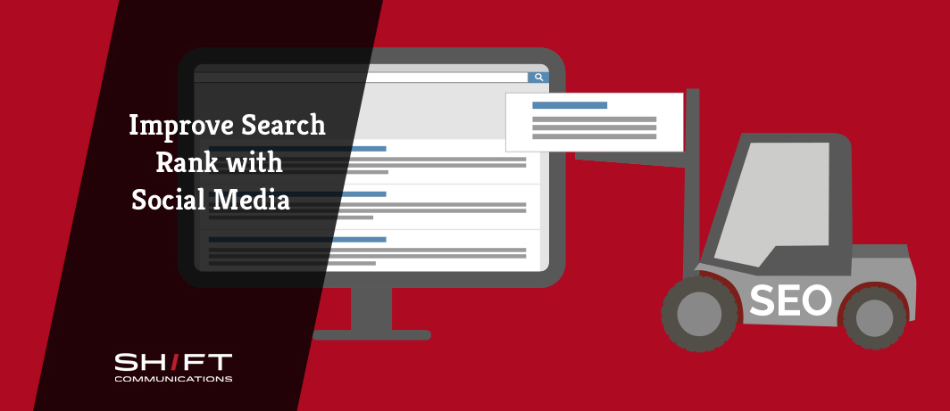Improve Search Rank With Social Media