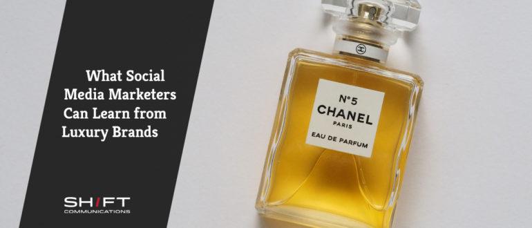 Learn from Luxury brands