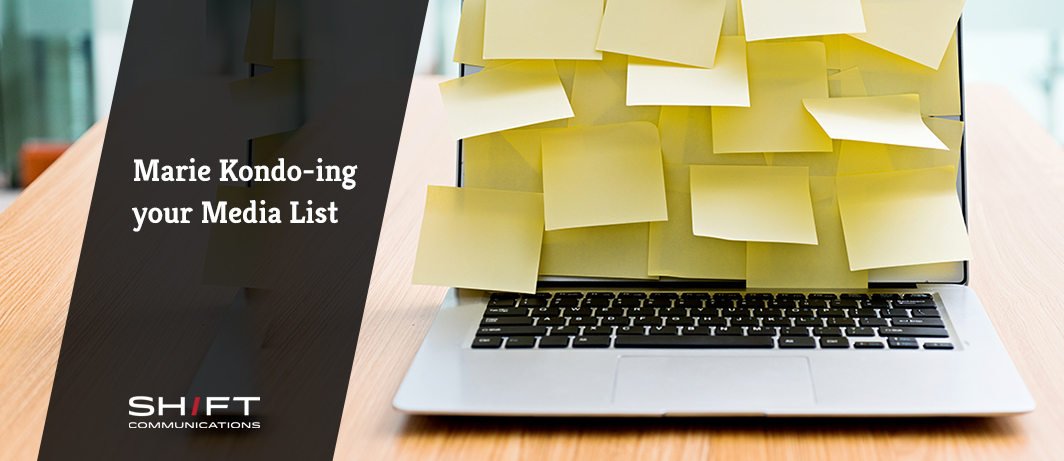3 Tips for Marie Kondo-ing your Media List
