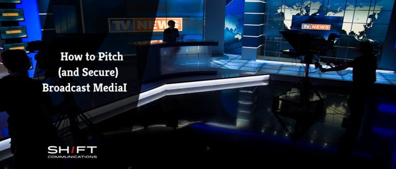 tv news studio set